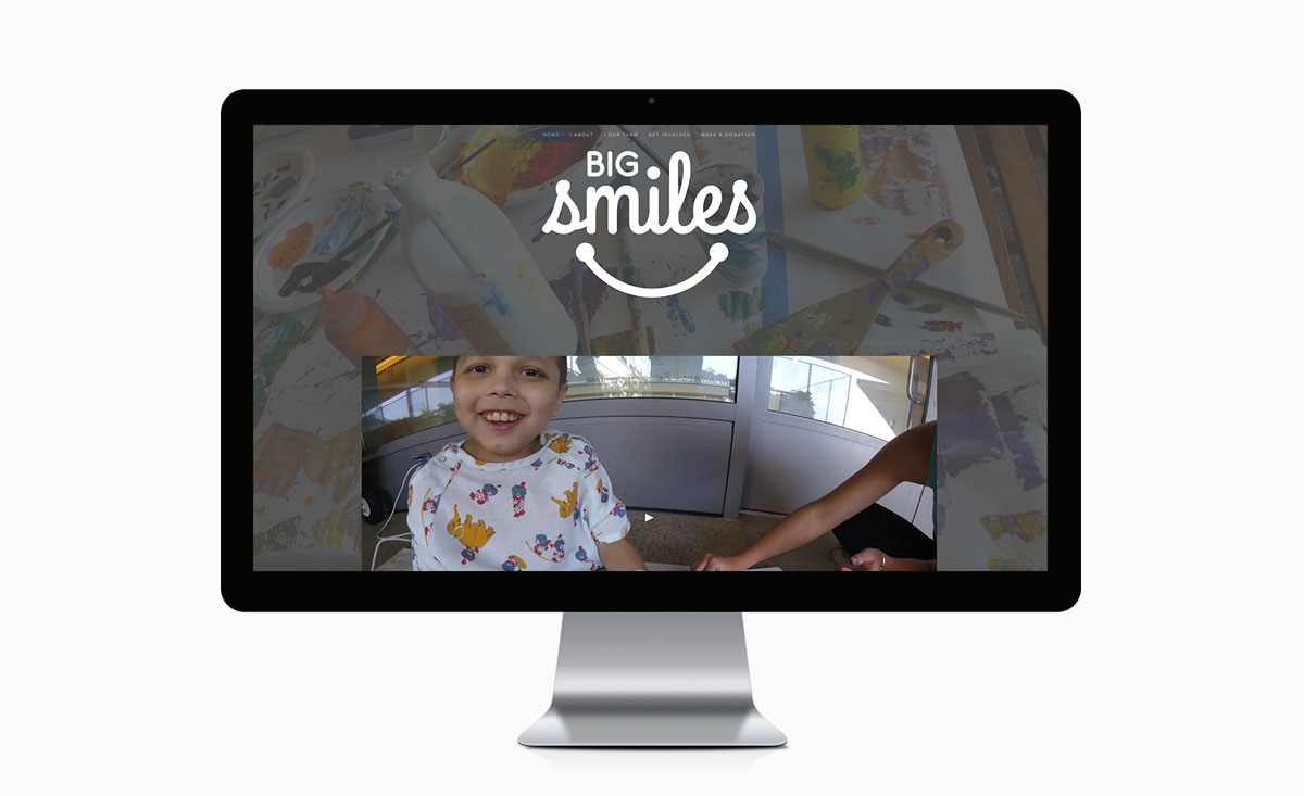 Big De Creative Big Smiles Program Website 2016