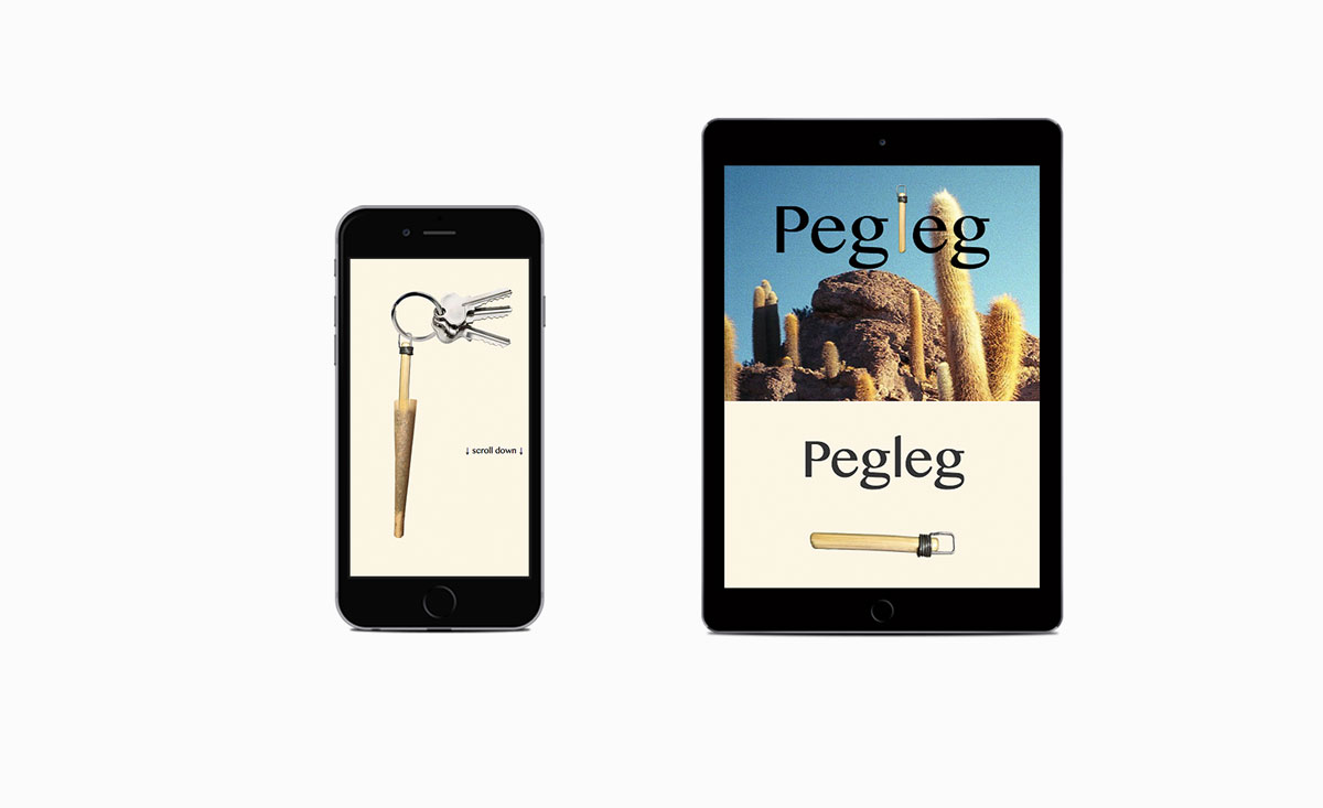 Big De Creative Pegleg Website 2016