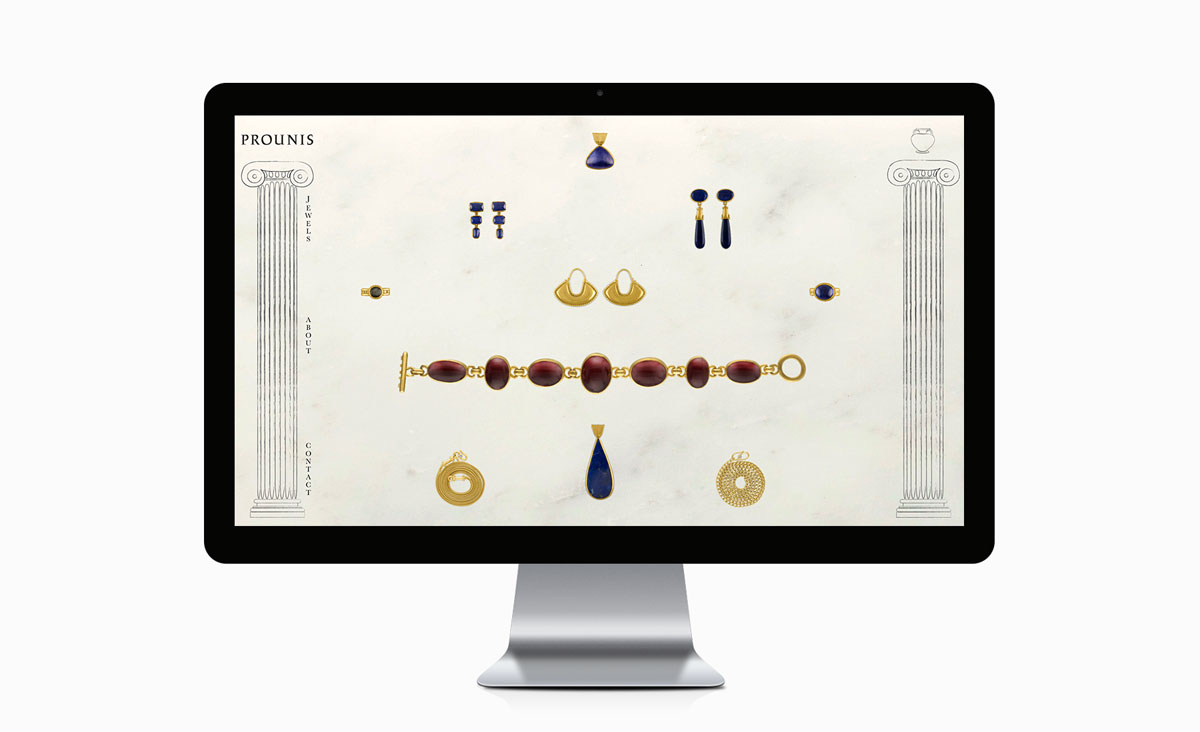 Big De Creative Prounis Jewelry Website 2017